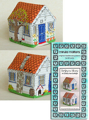 Cross Stitch Needlecraft Shop Pattern 3D BrightSea Village #14 by Elli Jenks