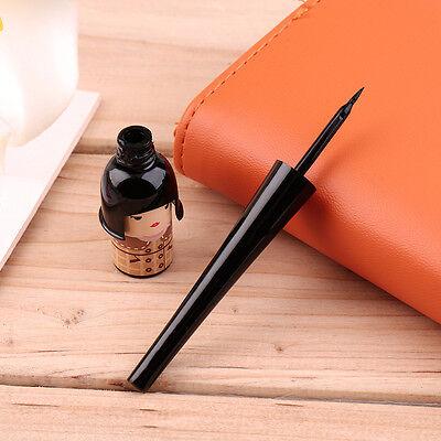 Women Cute Lucky Doll Black Waterproof Liquid Eyeliner Pen Makeup Cosmetic IM