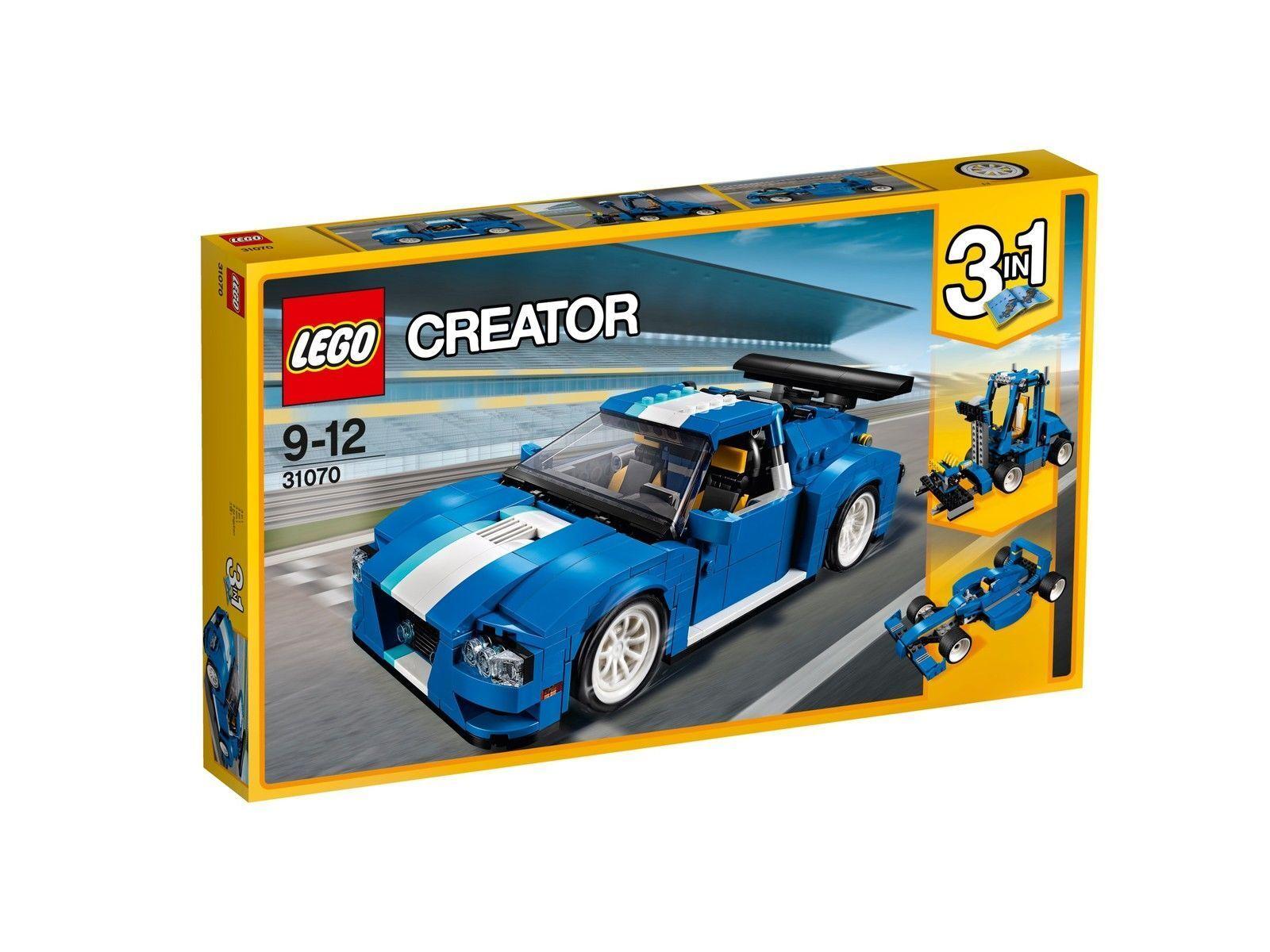 LEGO Creator 31070 Turborennwagen NEU OVP