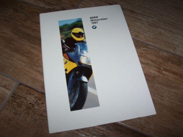 Beschouwend Catalogue / Brochure Bmw Motorrad Gamme / Full Line 1997 //