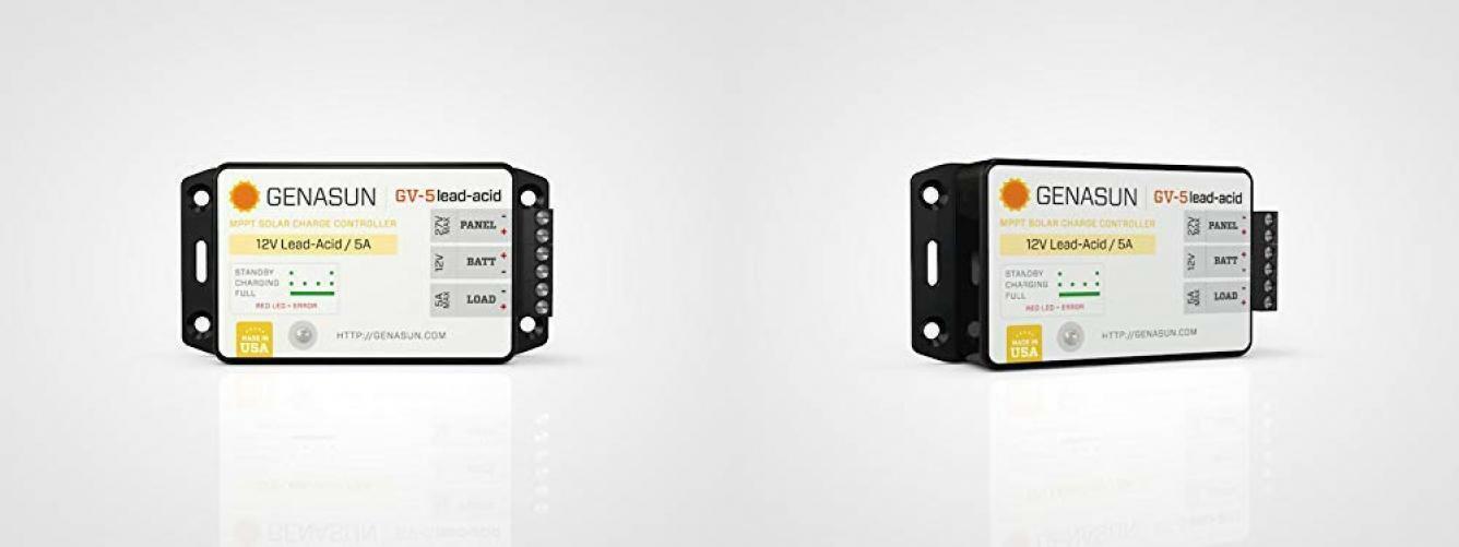 GV-Boost 8 Amp 48 Volt MPPT Solar Boost Charge Controller for Lead Acid Batteries Genasun GVB-8-Pb-48V