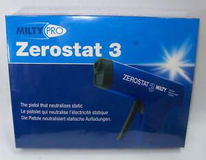 Milty Zerostat 3 Anti-Static Gun for Vinyl Cleaning Prevents Dust 2DAY AIR