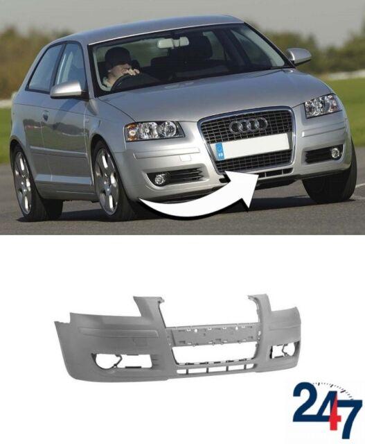 Neuf Audi A3 2009-2013 Pare Choc avant avec Lave Phare Trous