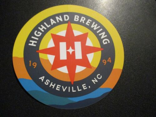 """HIGHLAND BREWING COMPANY horizon 4.75/"""" STICKER decal craft beer brewery brewing"""