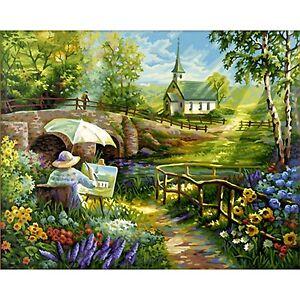 Malen nach Zahlen Der Herbst 40 x 50 cm Schipper Jahreszeiten Landschaft