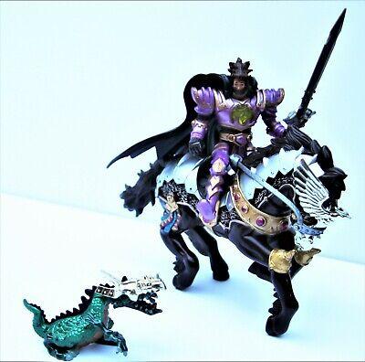 100% Vero Chap Mei Cavaliere Medievale Luci-up Power & Cavallo Arma Completa Deluxe Playset-mostra Il Titolo Originale