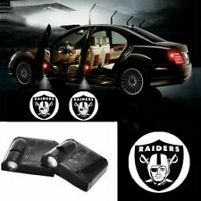 For Raiders Car Door Led Welcome Laser Projector Car Door Courtesy Light Suitable Fit for all brands of cars