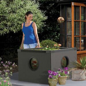 Hozelock garden fish pond outdoor aquarium patio water for Outdoor aquarium uk