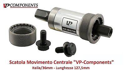 0520 Scatola Movimento Centrale VP 127,5mm-ITA per Bici 20-24-26 MTB Mountain Bi