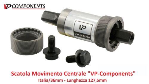 """0520 Scatola Movimento Centrale /""""VP/"""" 127,5mm-ITA per bici 26-28 R Viaggio bacche"""
