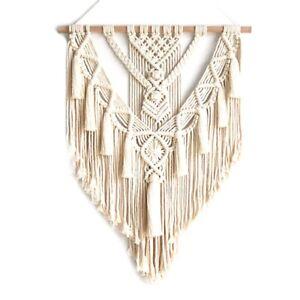 Macrame-Wall-Hanging-Tapestry-Wall-Decor-Boho-Chic-Bohemian-Woven-Home-Deco-V2X4