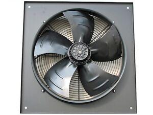 2 Pole 200mm extractor de aire comercial axial 8 Ventilador industrial de metal