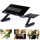 NEW Portable Foldable Laptop Notebook PC Table Stand Bed Tray Folding Adjustable