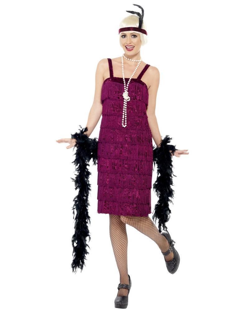 20'S TIErot FLAPPER GATSBY CHARLESTON DRESS WITH HEADPIECE | Exquisite (mittlere) Verarbeitung  | Deutschland Store  | Ausgezeichneter Wert  | Zuverlässige Leistung  | Stilvoll und lustig