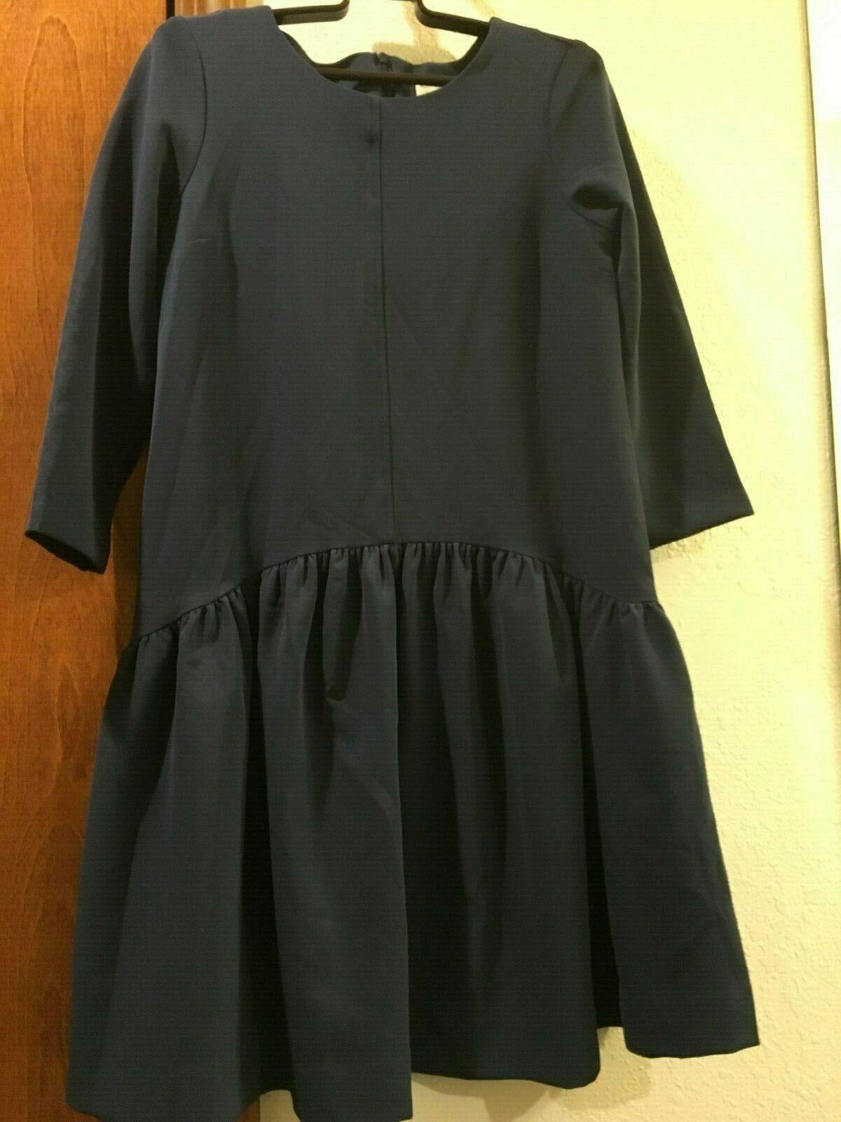 Kim Proper San Francisco Mauve Dress damen Größe S Pleat Waist Modern Cut Stylish