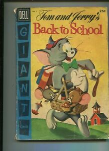 Tom-And-Jerry-039-s-1-Fair-Good-Back-To-School-CBX28