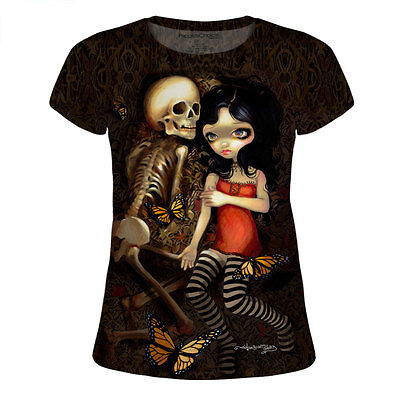 Im Almost With You for Juniors T-Shirt designed by Jasmine Becket-Griffith