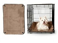 Memory Foam Crate Pads For Dogs & Pets - 6 Sizes - Machine Washable