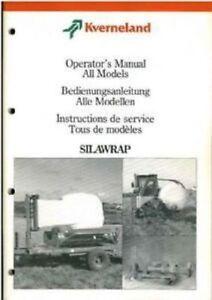 kverneland bale wrapper 7510 7512 7515 7554 7556 7558 7581 7582 rh ebay co uk kverneland bale wrapper manual