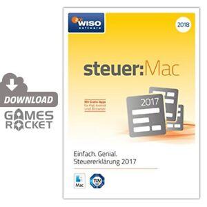 steuererklärung 2017 download mac