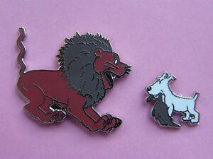 2-pin-039-s-MILOU-et-le-LION-tintin-au-congo-1-pin-039-s-tintin-kuifje-bd