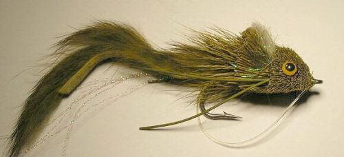 Dahlberg Rabbit Strip Diver Olive 3//0 Saltwater Hook