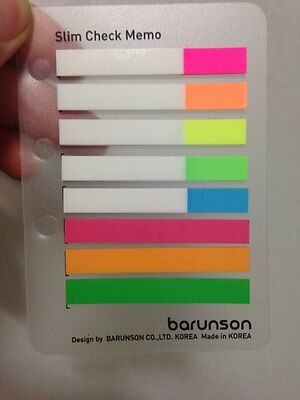 Post-it Flag  bookmark point Sticky note Index tap plastic paper On the Go