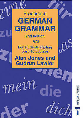 1 of 1 - Very Good, Practice in German Grammar - 2nd edition: For Students Starting Post-