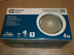 046335961364-General-Electric-4-034-White-Shower-Recessed-Light-Kit