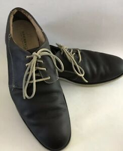Sperry-Top-Sider-Mens-Jamestown-Gray-Leather-Oxford-Shoes-SIZE-12