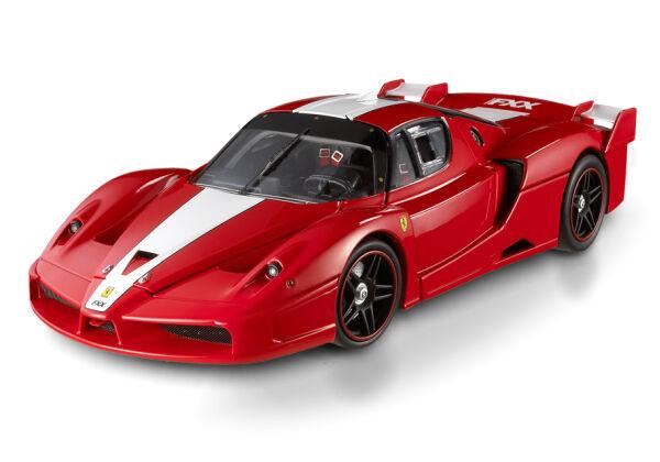 FERRARI FXX RACECAR SCUDERIA RED  BY HOT WHEELS ELITE EDITION 1 18 NEW IN BOX