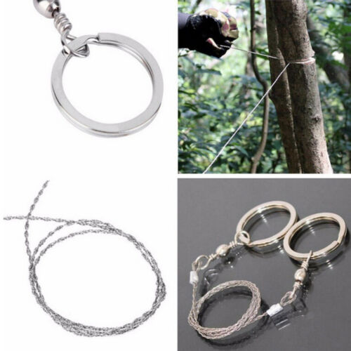 Hand Outdoor Fret Saw Sharp Fretsaw Hiking Camping Survival Chain Jigsaw Tools
