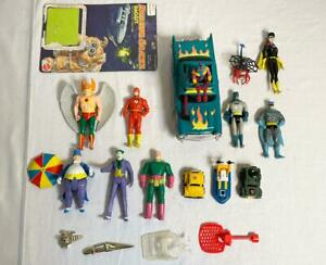 Vintage Super Powers M.A.S.K. Transformers lot Penguin Joker Hawkman Bumblebee