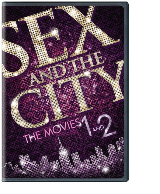 Sex and the City / Sex and the City 2 (DVD, 2-Disc Set) - NEW!!