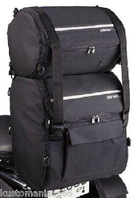 Set borse schienalino x Harley Davidson, Honda, custom
