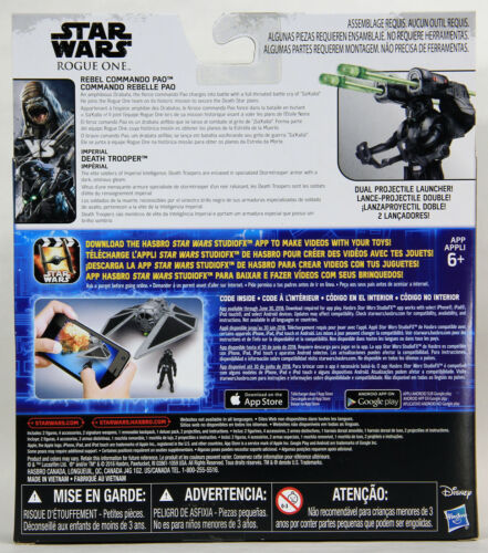 Rebel Pao VS Death Trooper L002007 Star Wars Rogue One Action Figures CANADA