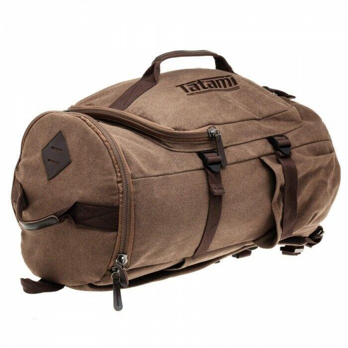 Tatami Weekender Holdall Bag BJJ Gi MMA Jiu Jitsu Gear Bag Sports Vintage Brown