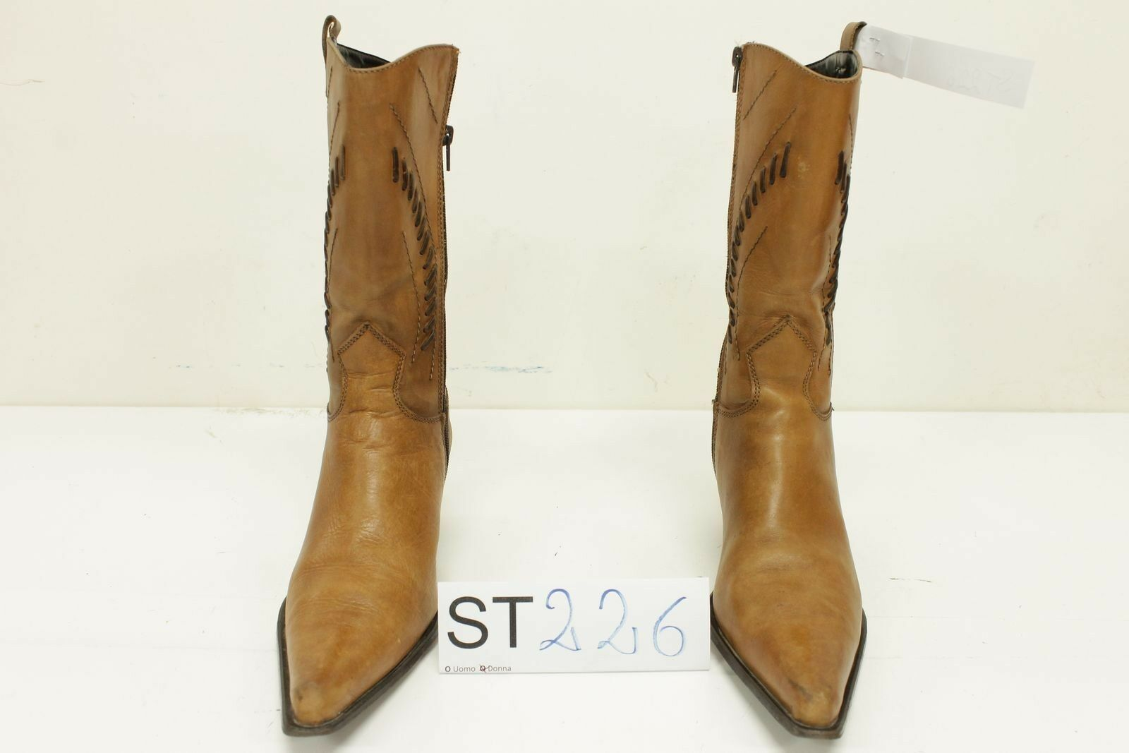 Stivale N.40 (Cod. ST226) Boots Western Country Cowboy women usato