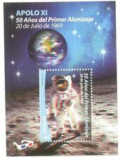 Uruguay 2019 SPACE APOLLO 11 MOON LANDING 50th ANNIVERSARY ASTRONAUTS 3D SHEET