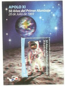 Uruguay-2019-SPACE-APOLLO-11-MOON-LANDING-50th-ANNIVERSARY-ASTRONAUTS-3D-SHEET