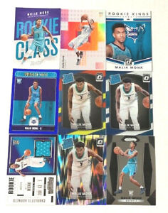 MALIK-MONK-9-Rookie-Cards-Lot-No-Dupes-Includes-RELIC-PRIZM