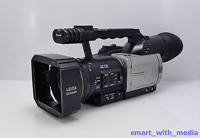 PANASONIC AG-DVX100E CAMCORDER 3CCD MINI DV PROFESSIONAL DIGITAL VIDEO TAPE