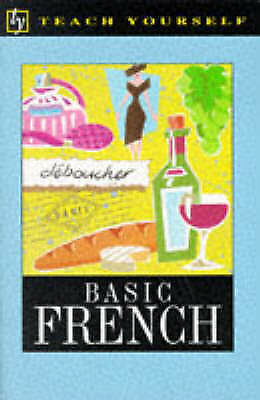 """AS NEW"" Arrogan, Jean Claude, Basic French (Teach Yourself) Book"
