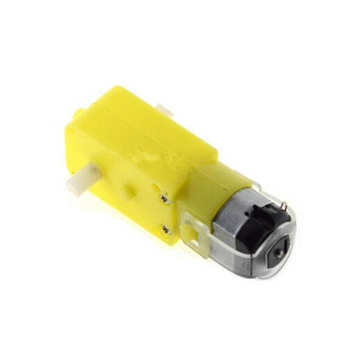 Eléctrico Gear Motor Doble Eje Gear Box magnético fuerte 3V-6V Coche de Juguete ACCS parte