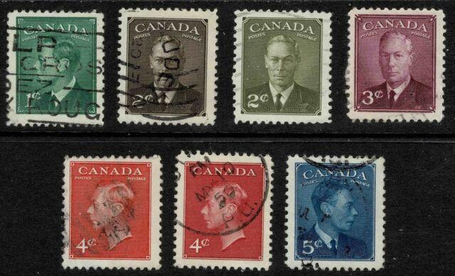 Canada 1949-51 King George VI