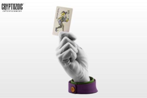 New Cryptozoic DC The Joker Calling Card (Weiß Grove ver.) Rare sent EMS