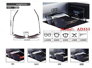 Audi Accessori Fashion Sport Designer aperta all'aria Car New Sunglasses rPqpwrf