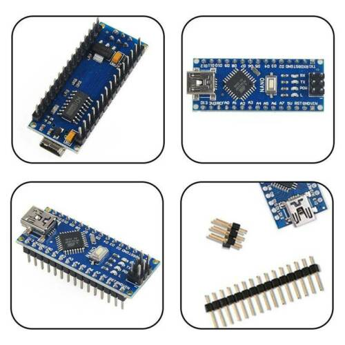 Nano V3.0 Mini USB ATmega328 5V 16M 100/%  CH340G for Arduino New