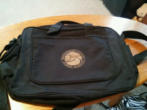 015 Black Shenandoah County Public Schools chers or Students Shoulder Bag