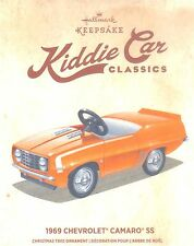 Hallmark 2016 1969 Chevrolet Camaro SS Kiddie Car Classics Christmas Ornament